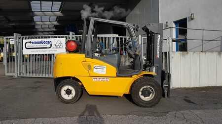 Treibgasstapler Jungheinrich TFG550  //  CONTAINERFÄHIG