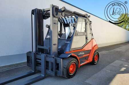 Dieselstapler Linde H60D mit Seitenschieber