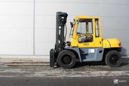 Wózki widłowe diesel TCM FD 80-9