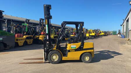 Diesel Forklifts Yale GDP35VX