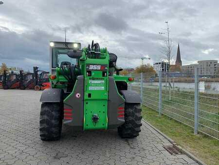 Chariot télescopique rotatif Sennebogen 355E