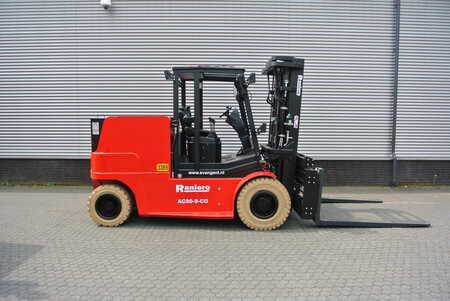 4-wiel elektrische heftrucks Raniero AC80-9-CO