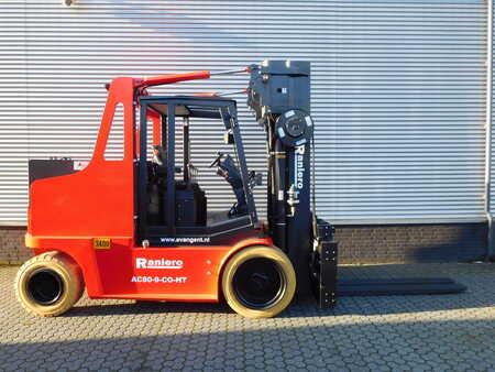 4-wiel elektrische heftrucks Raniero AC80-9-CO-HT
