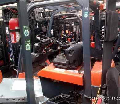 Elektromos 4 kerekű Toyota TOYOTA 7FBMF20