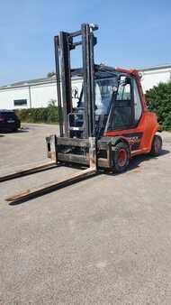 Chariot élévateur gaz Fenwick H 80 T / 900-02