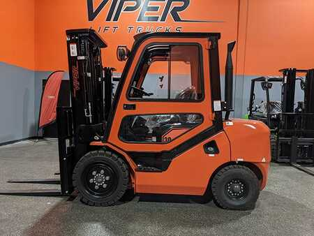 4 Wheels Electric Viper Lift Trucks FD30