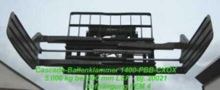 Pulp bale clamps, rigid arms Cascade 140D-PBB-CXOX