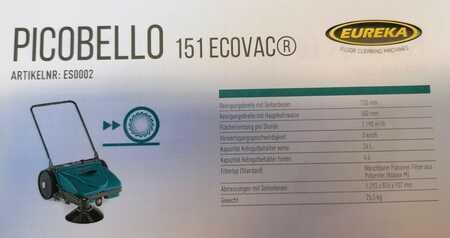 Sopmaskiner Eureka Picobello 151 Ecovac