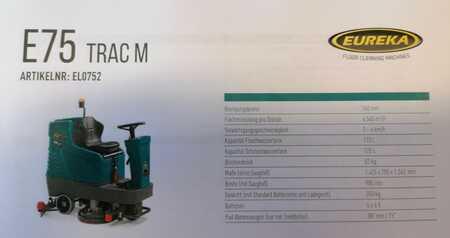 Zit schuur-zuig-machine Eureka E75 Trac M