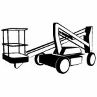Articulating boom lift Genie Z62/40