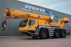 Mobilkraner LIEBHERR LTM1050-3.1 6x6x6 Drive, 50t Capacity, 38m Main bo