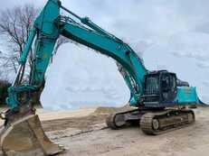 Bæltegraver Kobelco SK350 NLC-10