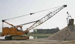 Tela-alustaiset nosturit Demag B410  Cable excavator / Seilbagger