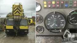 Mobilní jeřáby Liebherr 10X8 LTM 1160-2