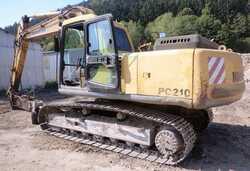 Bæltegraver Komatsu PC 210-6K