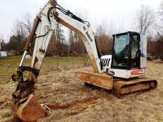 Kettenbagger Bobcat 442 B