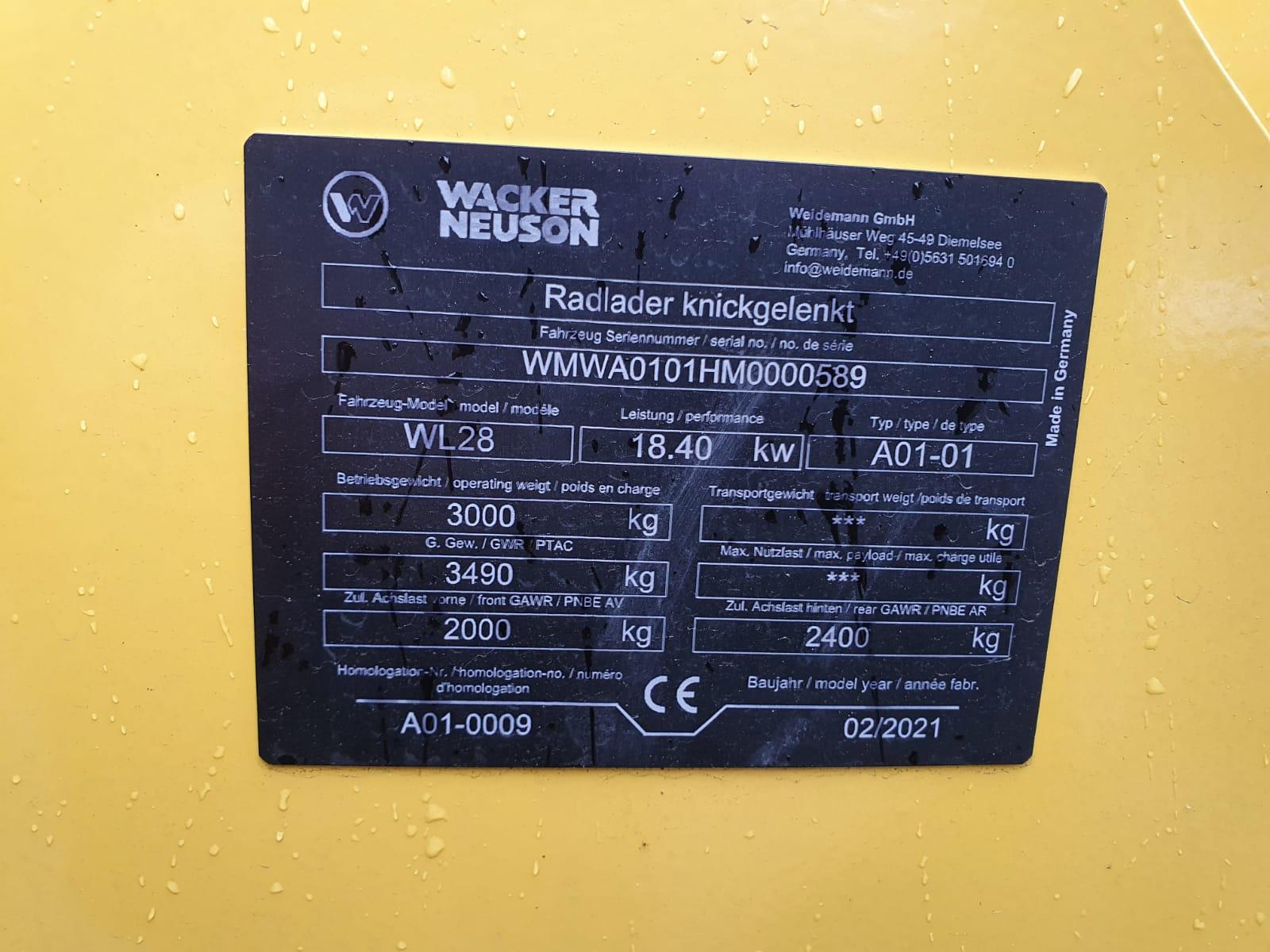 Wacker Neuson WL 28