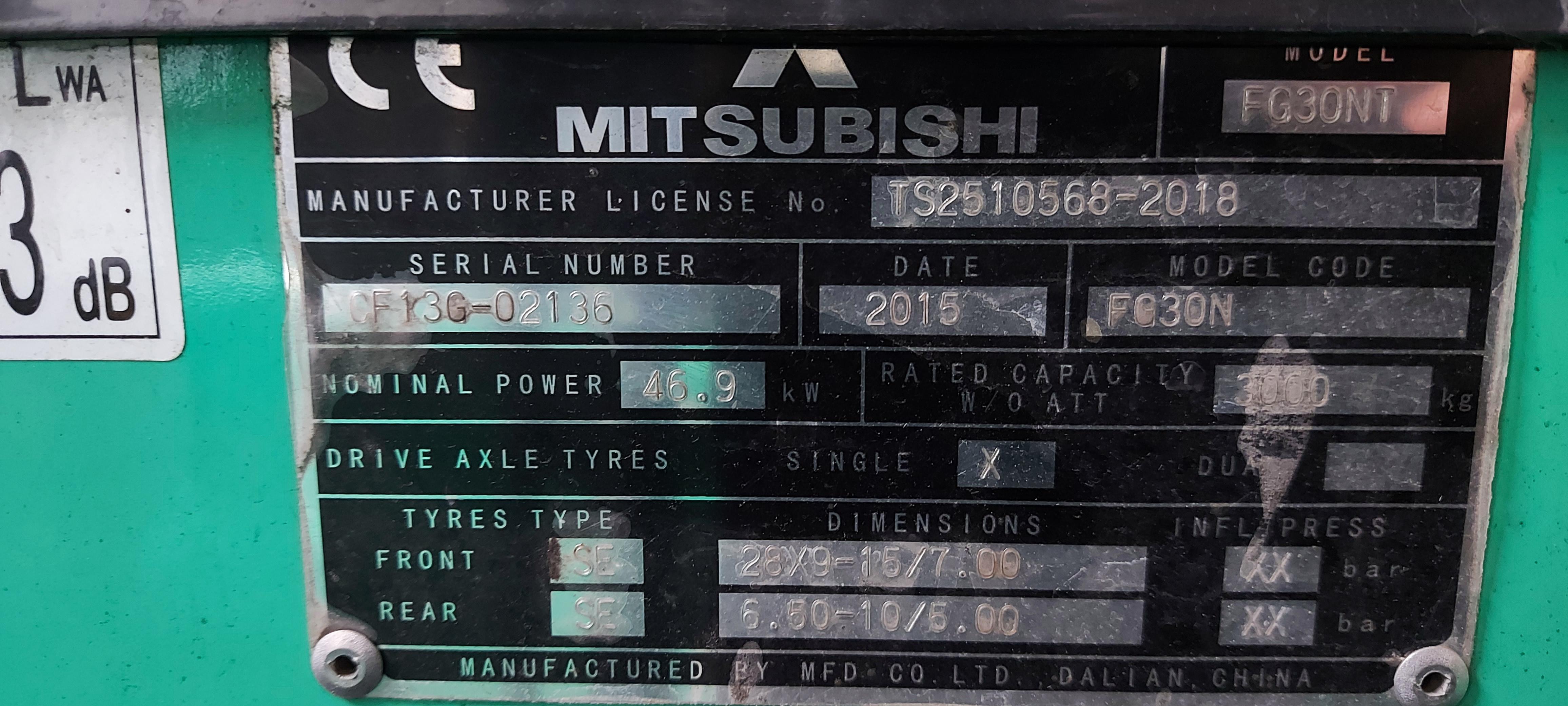 Mitsubishi FG30N